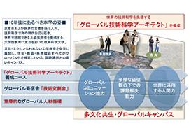 「グローバル技術科学アーキテクト」養成キャンパスの創成