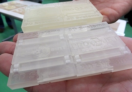 3Dプリンタで出力したモデル