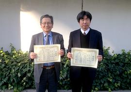 寺嶋教授、北川教授