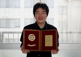 平成二十六年度溶接学会奨学賞