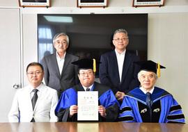 平成27年度大学院博士後期課程学位記授与式