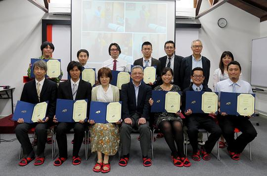 平成27年度教員グローバル人材育成力強化プログラム(長期FD)修了式