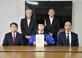 平成28年度大学院修了式・学位記授与式