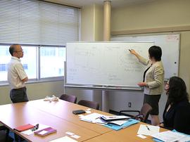 モンゴル科学技術大学の教員研修