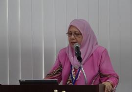 Asmaマレーシア科学大学長による基調講演