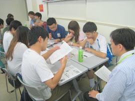 Students participate in group debates.jpg