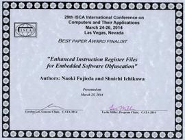 Best Paper Award Finalist