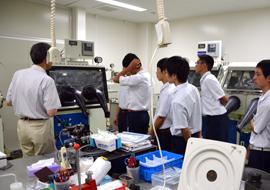 櫻井研究室の見学