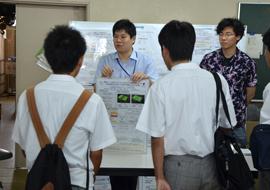 川島研究室の見学