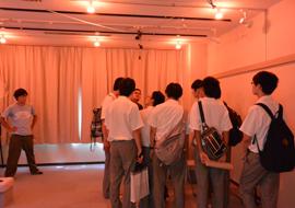 栗山研究室の見学