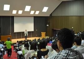 【入試案内プログラム】大西学長による挨拶