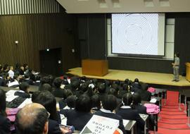 北崎准教授による模擬授業