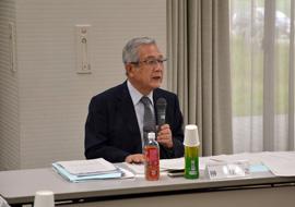 協議会の会長 榊佳之氏