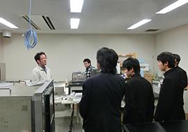 田中・有吉研究室の見学