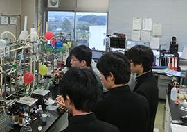 柴富研究室の見学