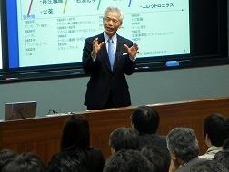 講演する蛭田氏