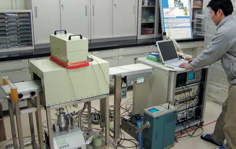 超高感度磁気センサを用いた食品内異物検出システム